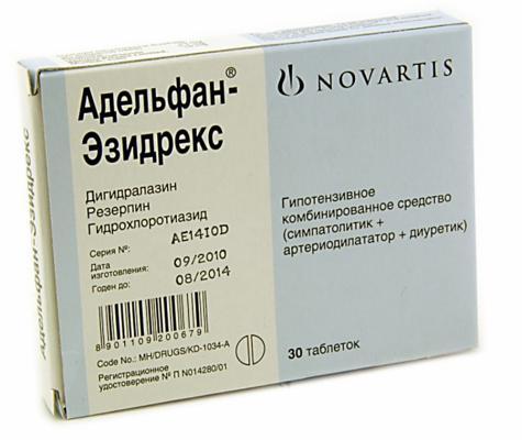 Сосудорасширяющие препараты при гипертонии