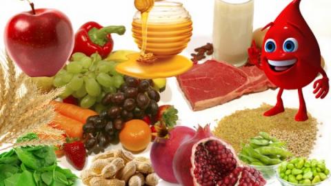 Продукти, повишающие гемоглобин в крови