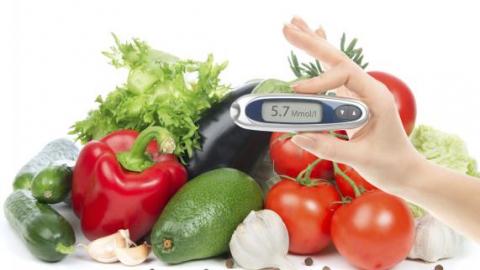 Глюкометр и продукты