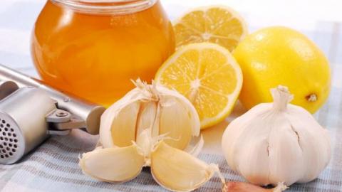 Мед, чеснок и лимон